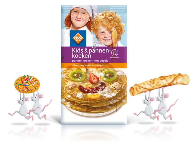 Kids Bakprodukten