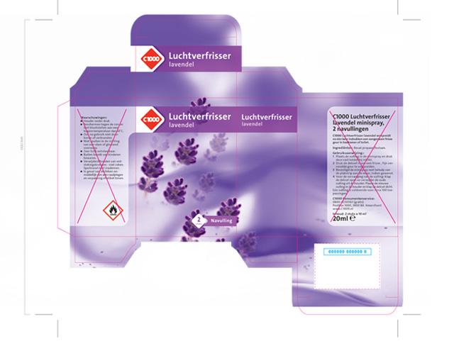 Luchtverfrisser Lavendel